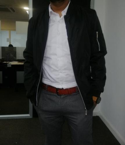 Men's British Style Casual Jacket photo review